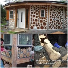DIY Cordwood Sustainable Green Homes