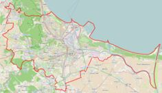Mapa lokalizacyjna Gdańska