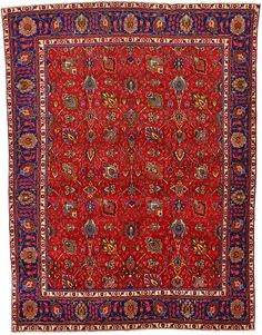 Imitation Oriental Rugs See More Red Tabriz Area Rug