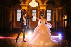 London Wedding PhotographerTale as old as time...Today I am so excited to be sharing this shoot with you! Inspired by Disney's classic, Beauty & The Beast, and featuring a slighting modern take on the lighting, this shoot is a fairytale come to life! Venue: Gibson…