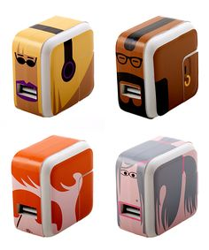Character Decal Set for iOS Charger