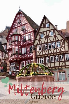 3 of the most adorable half-timbered towns you've probably never heard of but have to visit!! Miltenberg, Michelstadt & Heppenheim, Germany - California Globetrotter