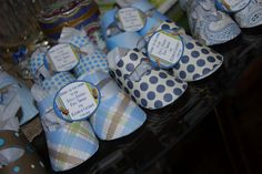 cutie paper bootie party favors | The Key Girls: Boys & Booties