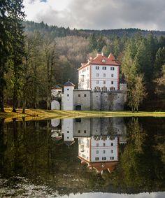 Snežnik Castle, Slovenia (by Domen Jakus)