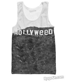 Hollyweed Tank Top *Ready to Ship* - RageOn! - The World's Largest All-Over-Print Online Store