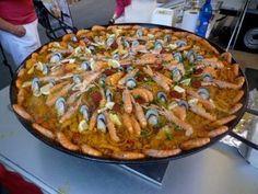Paella: Valencia, Spain #cheapOair