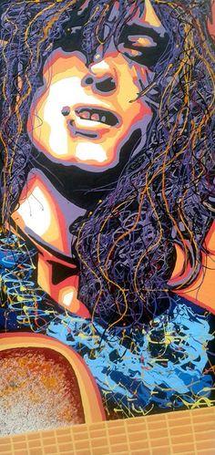 Jimmy Page artwork by Designpro3