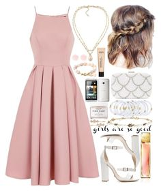 """""""Outfit #242"""" by all-icreate on Polyvore featuring Chi Chi, Schutz, Carolee, New Look, Herbivore, Cara and Henri Bendel"""