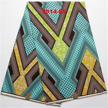 CP2914-85 100% cotton high quality african fabric real wax print for cotton cloth, indian fabrics hollandais super wax 6yards(China (Mainland))