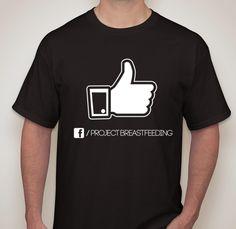 "From Project Breastfeeding by Hector Cruz. ""Like"" Project: BreastFeeding Unisex T-shirt"