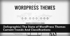 The State of WordPress Themes: Current Trends And Classifications // Check out this infographic: