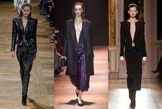 Alfaiataria sexy na Paris Fashion Week: a camisa sai, o blazer permanece