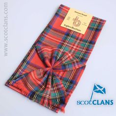 Stewart Royal Ancient Tartan Mini Sash from ScotClans