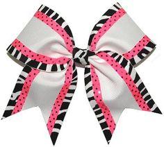 zebra white pink