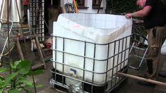 Kleine Gärten müssen auf einen eigenen Pool nicht verzichten. So lässt sich z.B. mit einem IBC-Container ein kleines Badeparadies schaffen. Wie das geht, zeigt dieses Video.