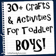 Little Family fun - A blog full of preschool learning activities.