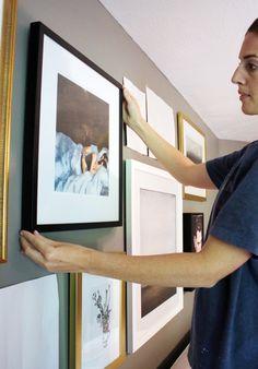 My Fool Proof Method of Hanging A Gallery Wall | Chris Loves Julia