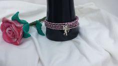Wickelarmband mit Anhänger Engel von Steffi's Schmuckkästchen auf DaWanda.com