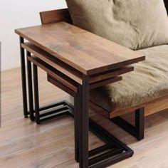 FREX coffee table (small piece) (oak / teak an order) . Hall Furniture, Space Saving Furniture, Steel Furniture, Home Decor Furniture, Cheap Furniture, Rustic Furniture, Furniture Design, Furniture Removal, Luxury Furniture