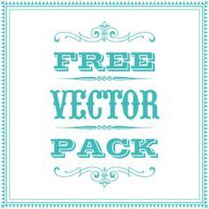 Amazing Vintage Vector Packs - Download 1900 Vector Ornaments, 4850 vintage illustrations, 644 decorative frames