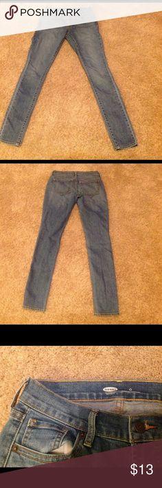 Size 0 old navy skinny jeans Worn once Old Navy Pants Skinny