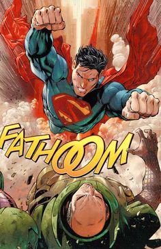 Age-old rivals: Superman vs. Lex Luthor