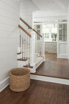 Painted Brick Cottage - Residence Bunch Inside Design Concepts - Cottage homes Brick Cottage, White Cottage, Cottage Homes, Cottage Exterior, Modern Cottage, Fairytale Cottage, Floor Colors, Hardwood Floor Stain Colors, My New Room