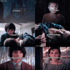 """710 Likes, 9 Comments - stranger things ❄️ (@milevenkiss) on Instagram: """"#milevenkissPOV I love that they're young and already endgame (other accs: @sprouseshart &…"""""""