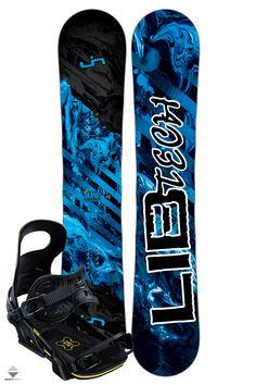 Komplet Snowboardowy Deska Wiązania Lib Tech Skate Banana 156