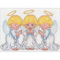 Dimensions Little Angels Counted Cross Stitch Kit