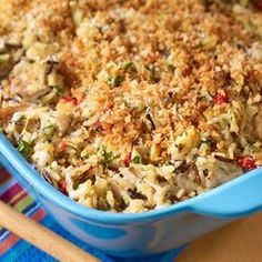 UNCLE BEN'S® Easy Rice Recipes | Wild Rice Chicken Supreme