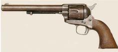 Johnny Ringo's Colt Cavalry Model Single Action Army Revolver