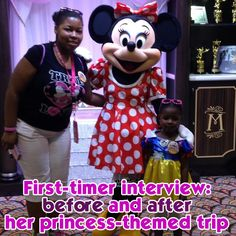 Interview w/a first timer before and after her princess-themed trip - see how her plans changed, her favorite parks and if she plans to go back