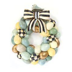 Handmade Egg Wreath  - ELLEDecor.com