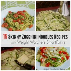 Pesto Zucchini Noodles Recipe With Chicken Sausage . Skinny Garlic Parmesan Zoodles With Weight Watchers Points . 40 5 Or Less Weight Watchers Smart Points Recipes Food . Zucchini Noodle Recipes, Zoodle Recipes, Zucchini Noodles, Ww Recipes, Healthy Recipes, Buckwheat Noodles, Shirataki Noodles, Chicken Noodles, Healthy Lunches