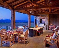 Casa rustica pitoreasca, in Montana: Stock Farm Residence 5