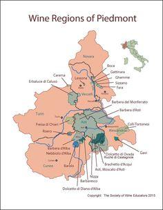 ITALY: Wine Regions of Piedmont