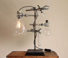 Industrial desk lamp steampunk antique by OBJECTSofINDUSTRY