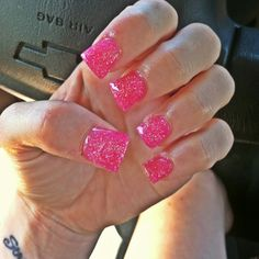 Flared Barbie nails <3 obsessing with crazy nails