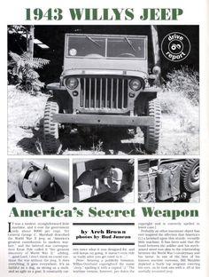 #Jeep - Secret Weapon
