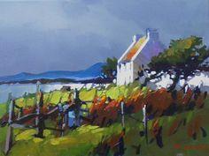 Cottage near Dingle, Ireland by Michael O'Toole Acrylic ~  x
