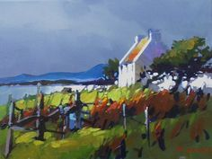 Cottage near Dingle, Ireland by Michael O'Toole Acrylic ~  x