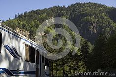 Mountains Motorhome - Download From Over 26 Million High Quality Stock Photos, Images, Vectors. Sign up for FREE today. Image: 42891894