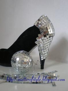 DIY mirror heels by Matter of Style: Eye on Fashion