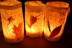 Herbst Fensterdeko