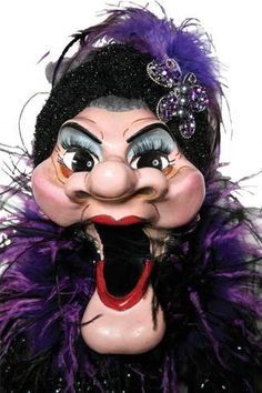Madame - so popular and so frickin' ugly! Also the 1st ventriloquist Drag Queen!