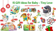 Gift Ideas for Baby from Tiny Love