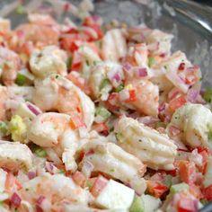 Recipe for Shrimp Salad . top 20 Recipe for Shrimp Salad . Shrimp Salad with Cilantro Mayonnaise – Laylita's Recipes Shrimp Salad Recipes, Seafood Salad, Shrimp Dishes, Fish Recipes, Seafood Recipes, Cooking Recipes, Healthy Recipes, Shrimp Pasta, Salad With Shrimp