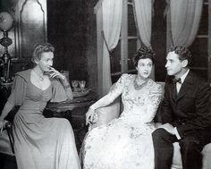 Katina Paxinou as Ibsen's Hedda Gabler, New York 1946