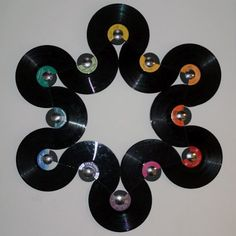 Record Wall Art Best Record Wall Art Ideas On Record Decor Record Best Record Wall Art Ideas On Record Decor Record Wall And Album Display Vinyl Record Wall Art And Clocks Record Decor, Record Wall Art, Vinyl Record Display, Vinyl Crafts, Vinyl Art, Music Crafts, Vinyl Decals, Wall Decals, Vinyl Record Projects